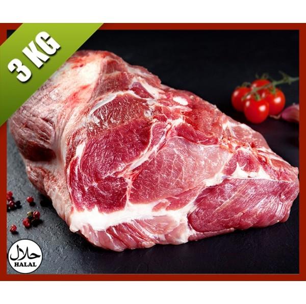 Épaule de veau rouge - 3KG