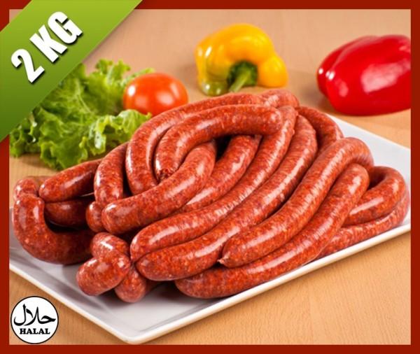 Livraison à domicile merguez de boeuf boucherie halal islam viande nice