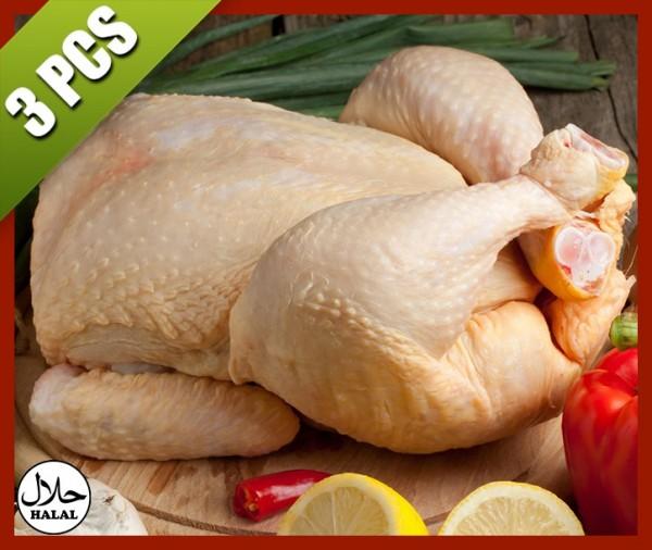poulet jaune pac acheter en ligne livraison viande halal à nice boucherie islam viande