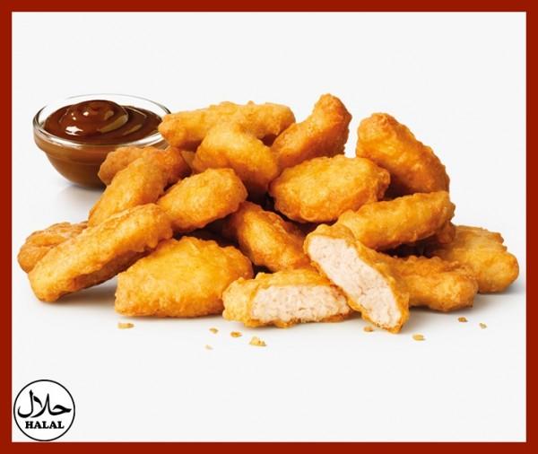 Nuggets de poulet Halal